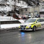Volkswagen Passat politibil under utrykning