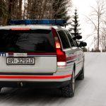 Volvo V70 politibil (2006) (ute)